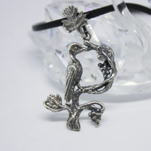Armenian Handmade Pendant Letter K