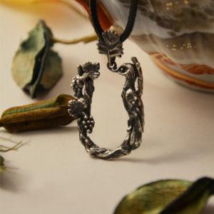 Armenian Handmade Pendant Letter S