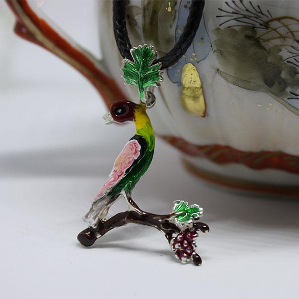 Armenian Handmade Pendant H ENAMEL