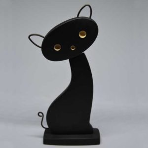 Handmade Wooden Cat